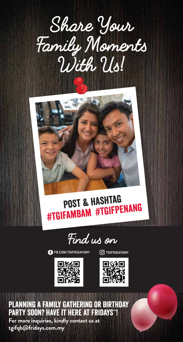 TGIF Queensbay Mall FamBam - Share your Family Moments with us