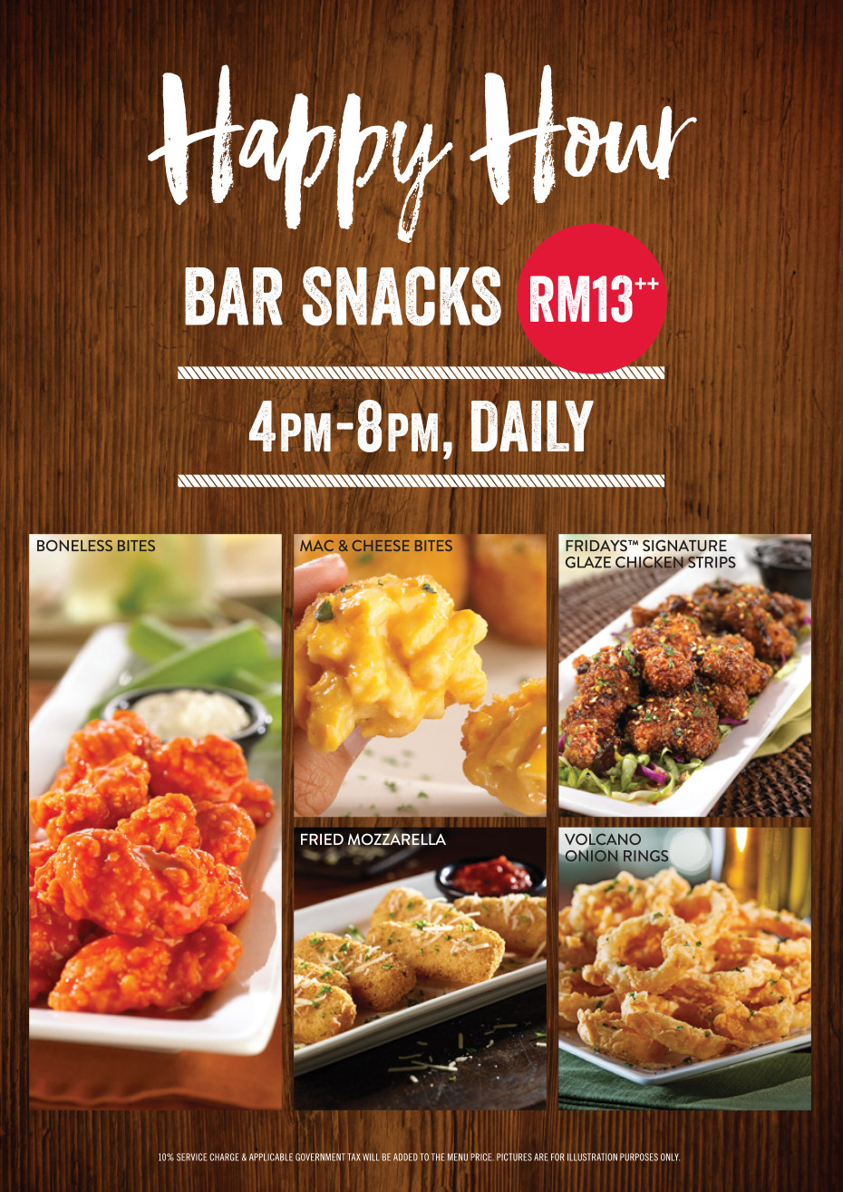 TGIF Happy Hour Bar Snacks