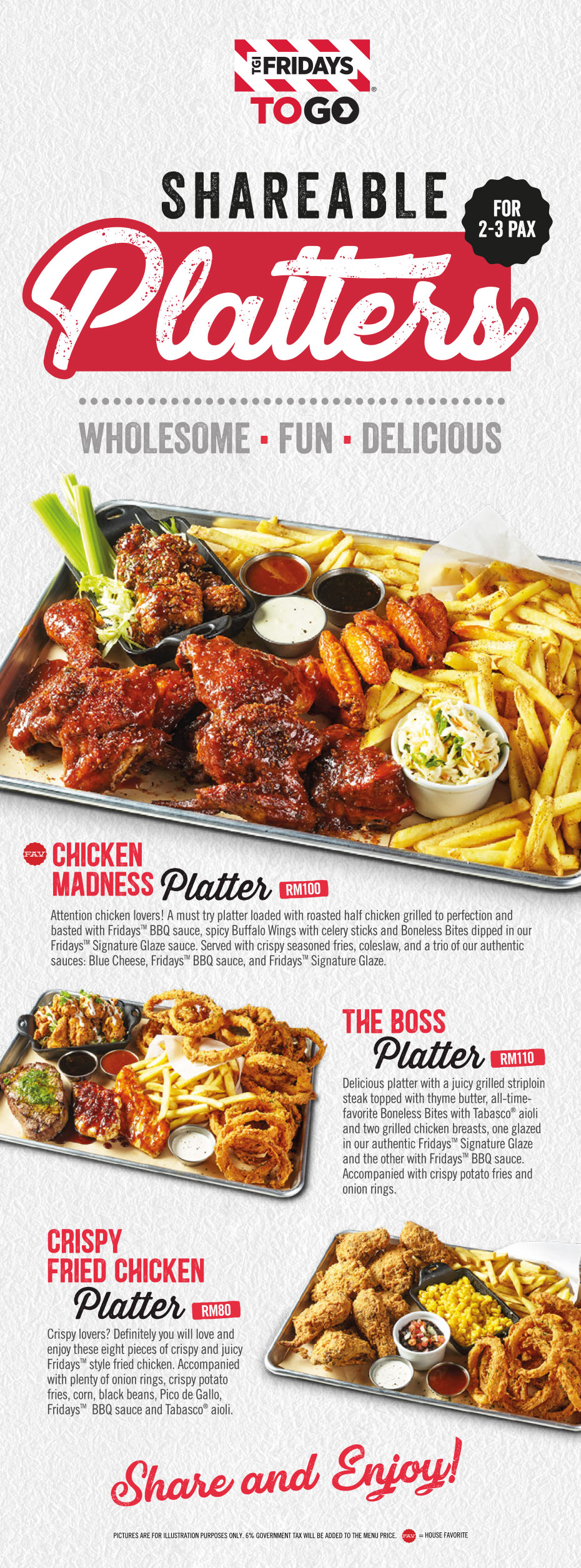 Shareable Platters